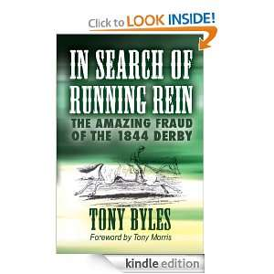 In Search of Running Rein Tony Byles  Kindle Store