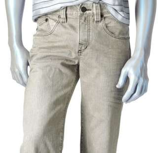 NEW Mens Rock & Republic Motor Straight Jeans 34/30 Gry