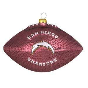 San Diego Chargers Team 5 Football Ornament