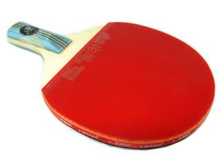 6006 Ping Pong Paddle 6 Stars Short Handle Table Tennis Racket