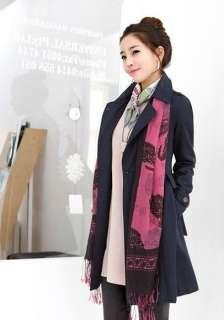 Women Casual Coat Autumn Winter Outerwear Lady Jacket #3309
