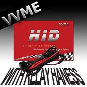 35W HID XENON KIT WITH RELAY HARNESS H1 H3 H4 H8 9006