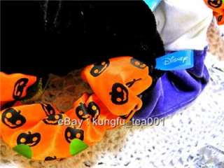 Disney Mickey Mouse Halloween Ponytail Hair Band Bow