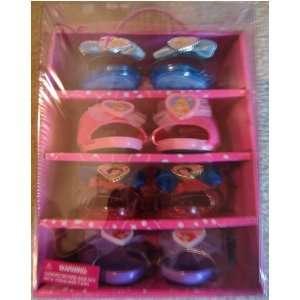 Disney Princess Glamour Shoe Case   Play Shoes 4 Pk   Cinderella