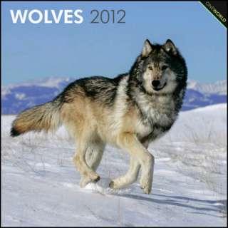 Wolves 2012 Wall Calendar 9781421675701