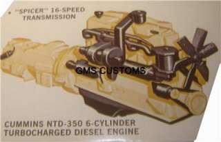 Cummins NTD 350 Turbocharged Diesel Truck ENGINE 125 |