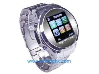 MQ006 New Unlocked Quadband Watch Mobile Phone Camera