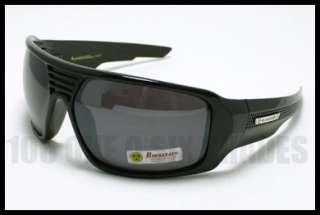 8e559d28ba ... BIOHAZARD Sports Mens Sunglasses Wrap Around BLACK ...