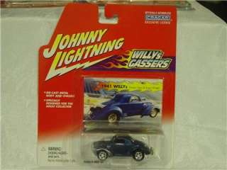 Johnny Lightning Willys Gassers 1941 Willys