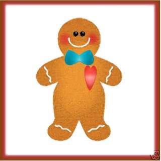 Sizzix Gingerbread Man #3 medium die #656724 Retail $11.99 SWEET, Cuts