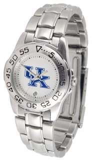 Kentucky Wildcats Logo  Ladies Sport Steel Watch