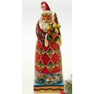 Enesco Jim Shore Heartwood Creek *Holiday Tradition* Santa