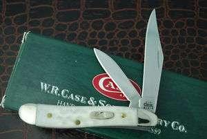 CASE XX NATURAL CORN COB JIG BONE PEANUT KNIFE 02 6220