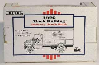 Ertl Diecast Truck Bank IGA 65 1926 Mack #9212 MIB |