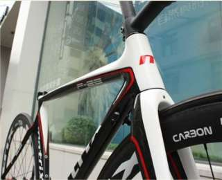F22 CARBON road frame+TAPERED fork 700c LITE@@LOOK red 54