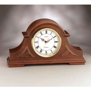 Linden Buckingham Mantel Clock: Home & Kitchen