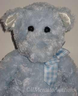 NEW DOUGLAS Cuddle Toys CLARENCE Plush Blue Teddy Bear Stuffed Animal