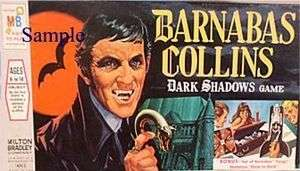 1960s BARNABAS COLLINS Dark Shadows game box cover magnet   new