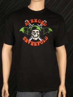 SEVENFOLD T Shirt Death Bat Soldier Mens Band Tee BRAND NEW