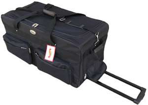 Large 30 Rolling Wheeled Duffel Bag Luggage 8991