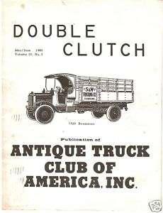 1980 Double Clutch magazine   Ford Model AA Truck ATCA
