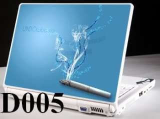 Laptop Skin Notebook Sticker Cover Decal Cigarette D005
