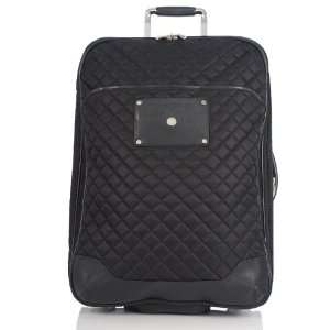 Marseille Vertical 24 Rolling Laptop Luggage Black