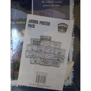 Groups Holy Land Jumbo Poster Pack (9780764431548): Group: Books