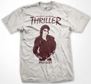 Michael Jackson Thriller Memorial T Shirt (Mens and Womens