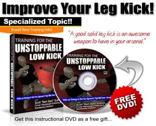 Advanced Muay Thai Training DVD Videos MMA Martial Arts