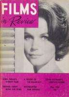 1962 FILMS IN REVIEW MAGAZINE MOVIES ACADEMY AWARDS
