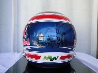 MARK WEBBER 2012 F1 REPLICA HELMET FULL SIZE HELM