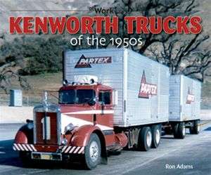 Kenworth Trucks of the 1950s cabover 18 wheeler big rig tilt cab 853