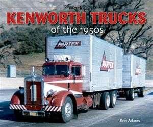 Kenworth Trucks of the 1950s cabover 18 wheeler big rig tilt cab 853