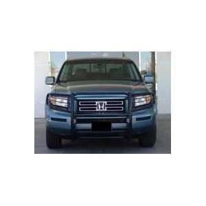 06 08 Honda Ridgeline Black Brush Grille Guard Automotive