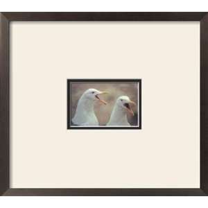 Western Gulls, Framed Print by Tupper Blake, 17x15: Home