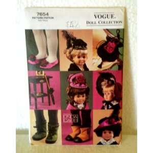 Vogue Patterns Doll Collection Doll Clothing 7654