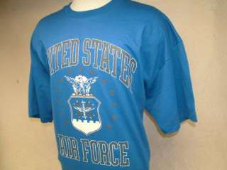 vtg USAF 80s, 90s AIR FORCE t shirt 2XL XXL