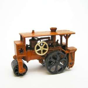 On Sale !! Steam Roller Replica Cast Iron Farm Toy Tractor