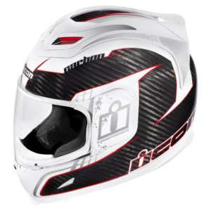 Icon Airframe Carbon Lifeform Helmet White Medium M