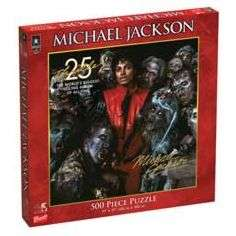 Michael Jackson 500 Piece Thriller Puzzle by