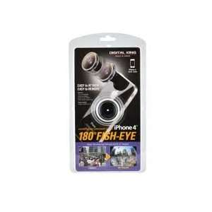 Degree Fish Eye Conversion Lens wi Magnet Mount for iPhone 4 by Todo