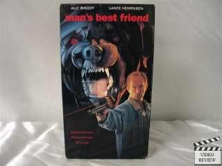 Mans Best Friend VHS Ally Sheedy, Lance Henriksen
