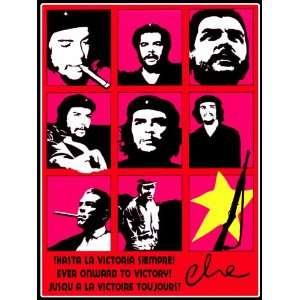 18x 24 Poster. Hasta la victoria siempre. Imagenes del