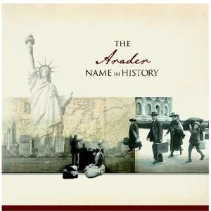 The Arader Name in History Ancestry Books