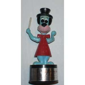 Vintage Hanna Barber 1950s Huckleberry Hound Push Button String Puppet