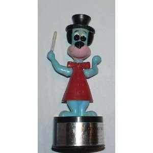 Vintage Hanna Barber 1950s Huckleberry Hound Push Button String Puppet
