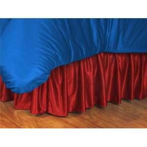 Room Bed Skirt   Philadelphia Phillies MLB /Color Bright Red Size Full