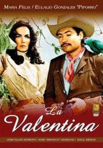 LA VALENTINA (1966) MARIA FELIX PIPORRO NEW DVD 735978418044