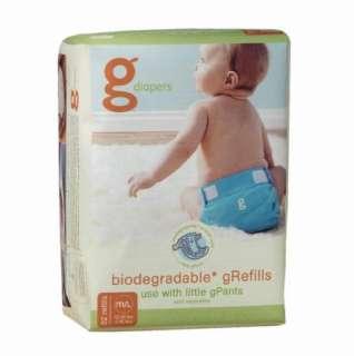 GDIAPERS GPANTS MEDIUM LARGE GREFILLS NEW IN PACKAGE